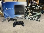 Sony Playstation4 Substance Jet Black 500gb Rock Shooter Sticker Pasted Verified