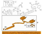 Cadillac Gm Oem 2018 Xts 3.6l-v6-exhaust System-muffler Tail Pipe 84289388