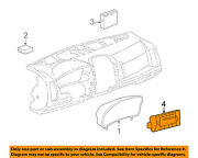 Cadillac Gm Oem 2007 Cts Dash Cluster Switch-control Assembly 15861855