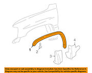 Cadillac Gm Oem-front Fender Flare Wheel Well Arch Molding Right 89045576