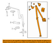 Gm Oem Rear Seat-restraint System-outer Belt Assembly Right 19353597