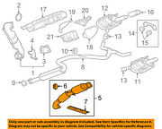 Buick Gm Oem 2011 Regal 2.0l-l4 Exhaust-front Pipe 22935314