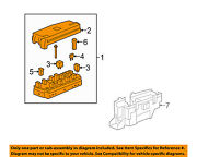 Saturn Gm Oem 08-10 Vue-electrical Fuse And Relay Box 25966734