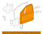 Pontiac Gm Oem 05-08 Vibe Front Door-shell Frame Panel Right 88974627