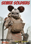 Damtoys&coaldog Zp004 1/6 Mindgame 5 Sewer Soldiers Quack Action Figure In Stock