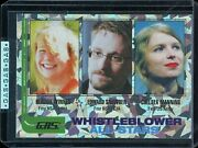 G.a.s. Trading Card 11 Whistleblower All-stars Cryptic Prism 1 Of 10