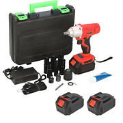 Rechargeable Electric Wrench With Led Work Light & Ergonomic Handheld Handle