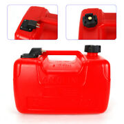 12l Portable Outboard Boat Marine Fuel Gas Tank + Male Connector + Fuel Line