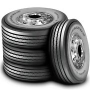 4 Tires Gladiator Qr55-st 11r22.5 Load G 14 Ply All Position Commercial