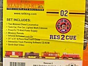 Mth New York City Fire Department Fdny Firefighter Proto Sound 2.0 Rescue 2 Set