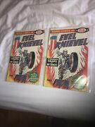 Marvel Comics Ideal 1974 Evel Knievel Comic Book 1 Rare Lot Of 2 Collectible