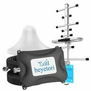 Att Cell Phone Signal Booster Band 2/5/12/17, 700/850/1900mhz For Lte 2g/3g/4g