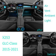 For Mercedes Benz Glc Class X253 Ambient Light Atmosphere Lamp Led Air Vent