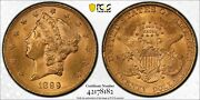1899 Pcgs Ms63 20 Gold Liberty Double Eagle Great Eye Appeal