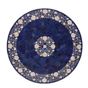 48 Marble Center Coffee Table Top Inlay Lapis Work For Room Decor