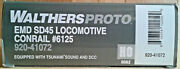 Ho Scale Walthers Proto Sd45 Conrail 6125 Dcc And Sound 920-41072