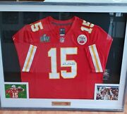 Jersey Autographed By Patrick Mahomes Certificate Beckett Coa Nike Super Bowl