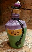 Blue Sky Claywork By Heather Goldminc Halloween Witches Brew Potion Bottle