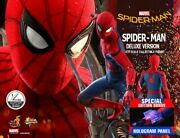 Hot Toy Qs015s Spiderman Homecoming Spider Man Deluxe Exclusive Edition