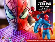 Hot Toy Vgm43 Marvel Spiderman Mark 4 Suit Edition Statue