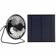 5w Mini Solar Panel With Portable Cooling Fan Photovoltaic Solar Panels Kits