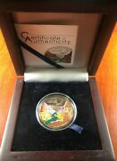 2014 Spectacular Landscapes Grand Canyon 5 Dollar 20 Gram Sterling Silver Coin