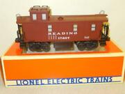 Lionel Vault- 17607- Reading Standard And039oand039 Caboose W/smoke - New- B2r