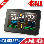 Digital Lcd Wireless Weather Station Indoor Outdoor Thermometer Hygrometer I0p3