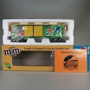 Mth Railking Freight Mandmand039s 40and039 Double Door Box Car O Gauge Trains 30-74620