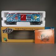 Mth Railking Freight Mandmand039s 4th Of July Boxcar W/ Light O Gauge Trains 30-74540
