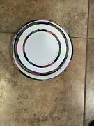 Circo Deruta Of Italy Set Of 11 Dinner Plates, Salad Plates, And Rim Pasta/soup