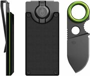 Gerber Gear Gdc Money Clip With Built-in Fixed Blade Knife Brand New In Box