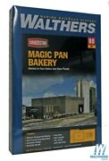 New Walthers Magic Pan Commercial Bakery Kit Ho Scale Train Free Us Ship