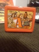 Vintage - The A Team - Tv Show Plastic Lunch Box 1983 No Thermos