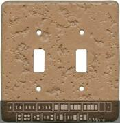 Stonique Terra Cotta Switch Plates Wall Plates And Outlet Covers
