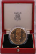 Cook Islands 1985 Gold 1 Proof Coin Mini South Pasific Games Km 30b