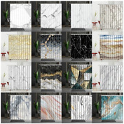 Marble Shower Curtain Set Mildew Proof Modern Bedroom Curtains Household Product