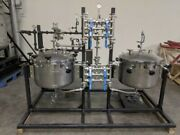 Botanical Solvent Extraction Skid