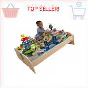 Paw Patrol Adventure Bay Train Table With 73 Accessories And Over 9 Feet Of Trac