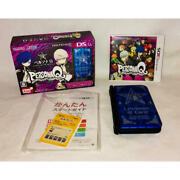 Nintendo 3ds Ll Xl Persona Q Shadow Of Labyrinth Velvet Model Limited Pack Mint