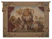 Vase And Raisins French Tapestry Wall Art Hanging For Home Decor New
