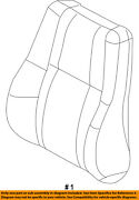 Jeep Chrysler Oem Front Seat-cushion Cover-top Back Right 5xu86ysaab