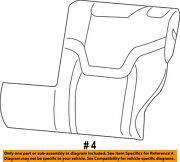 Jeep Chrysler Oem 15-17 Renegade Rear Seat-seat Cover-top Back Left 6am56pxraa