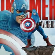 Side Show 15 Scale Avengers Assembly Captain America 200355 Figure Statue