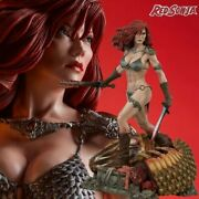 Sideshow Red Sonja She Devil With A Sword 300347 Figure Statue