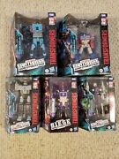 Transformers War For Cybertron Earthrise Leader Optimus Prime Lot Of 5 Figures