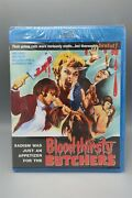 Bloodthirsty Butchers Blu Ray Sealed Code Red Andy Milligan Nightmare Usa New