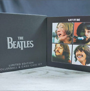 Rare Acme The Beatles Limited Edition Rollerball And Card Case Set No.718/1000