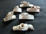 Native American Clay Pipe Animal Effigy Group, Collector's Choice, Pe-082105799