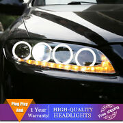 Hid Headlights For Mazda 6 Atenza 2003-2008 Led Drl Sequential Turn Signal Light